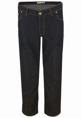 "Grote maten stretch jeans  "" Maxfort ""  Zwart / grijs"
