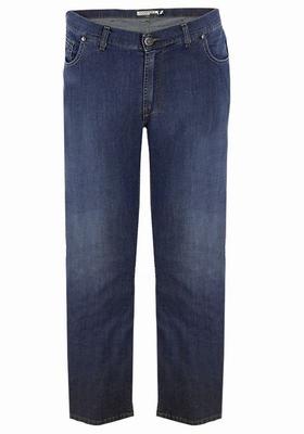 "Grote maten stretch jeans  "" Maxfort ""  Dark stone"