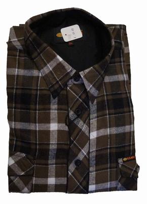 """Fleece blouse met lange mouwen  """" Kamro """"  Geruit"""