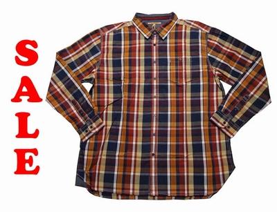 """Grote maten blouse met lange mouwen  """" Paddock's  """"  Geruit"""