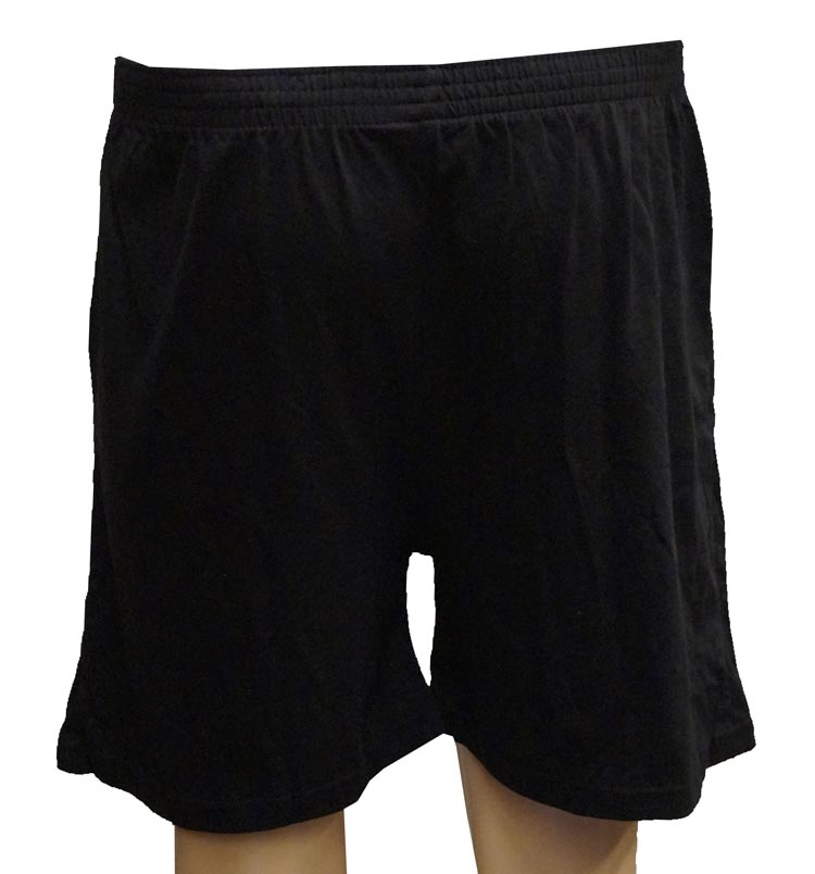 """Boxershort met knoopsluiting """"  Adamo """"  Zwart"""
