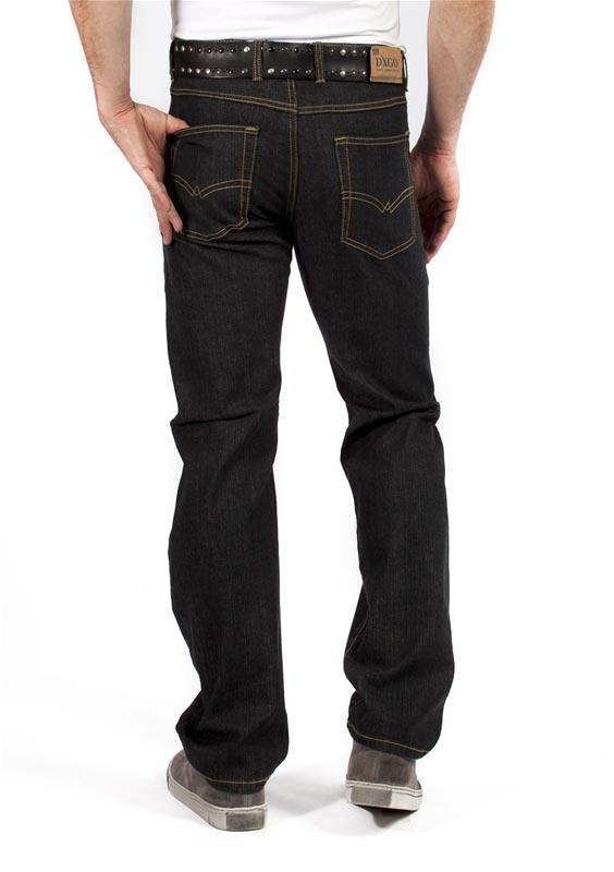 """Digo / Dxgo / DJX Stretch jeans  """"  Model 121 """"  Zwart"""