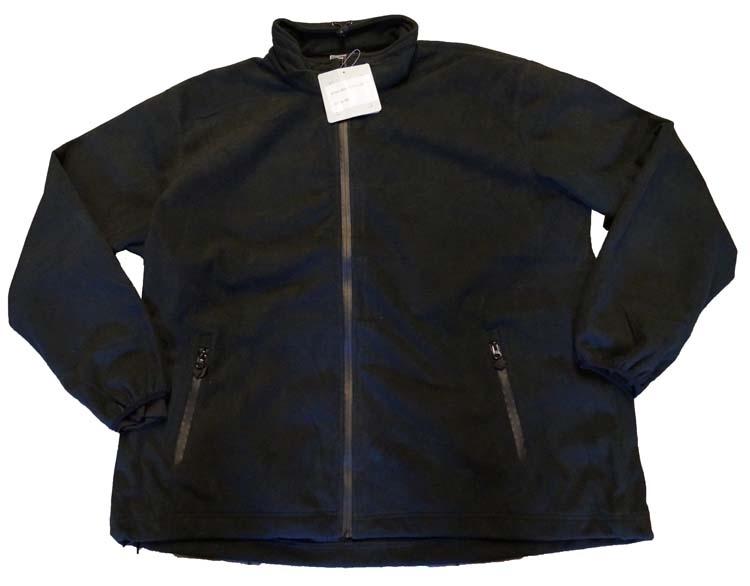 """Gevoerd fleece vest   """" Zwart  """""""