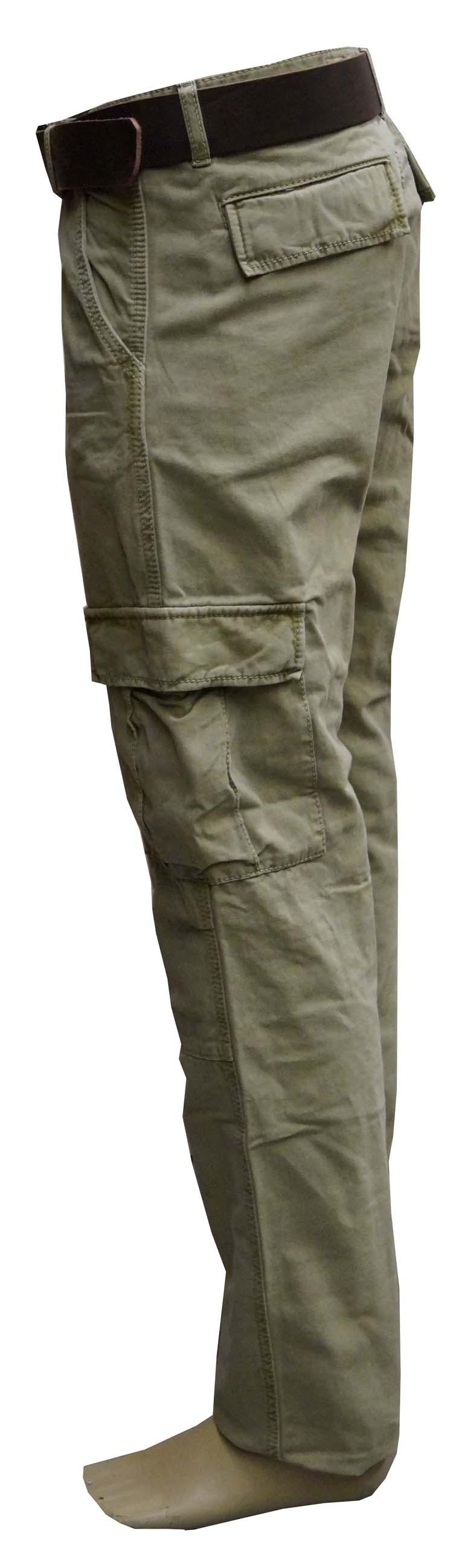 """Grote maten Paddock's jeans  """" Worker """"  Midden groen"""