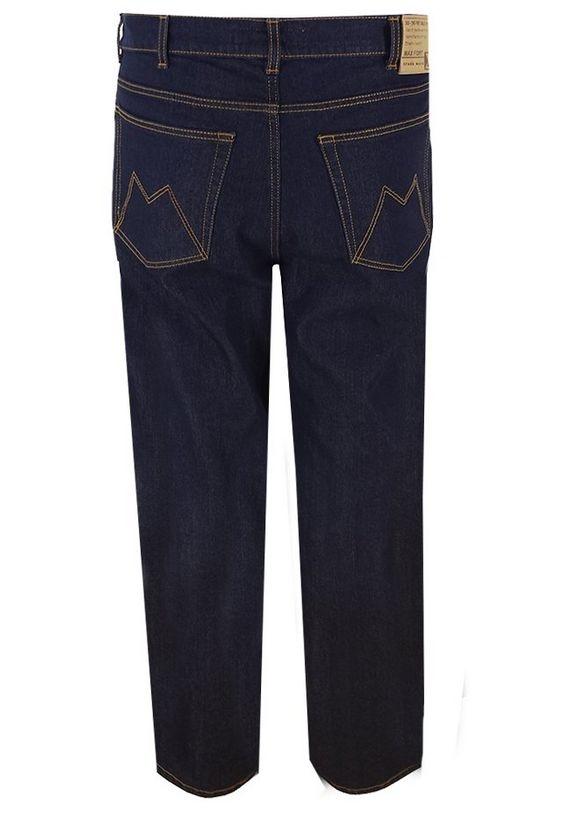 "Grote maten stretch jeans  "" Maxfort ""  Ultra dark"