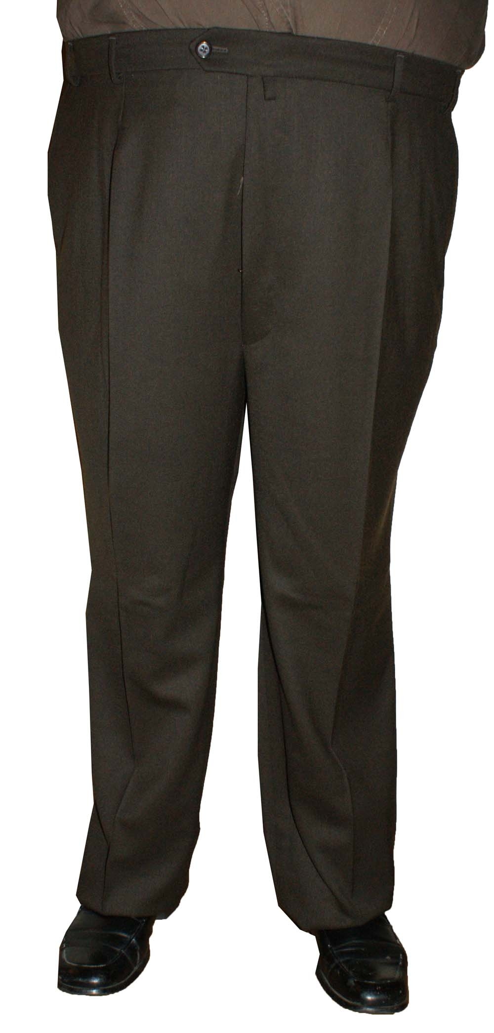 """Heren pantalon Extra lange lengte """" Klotz """"   Bruin"""