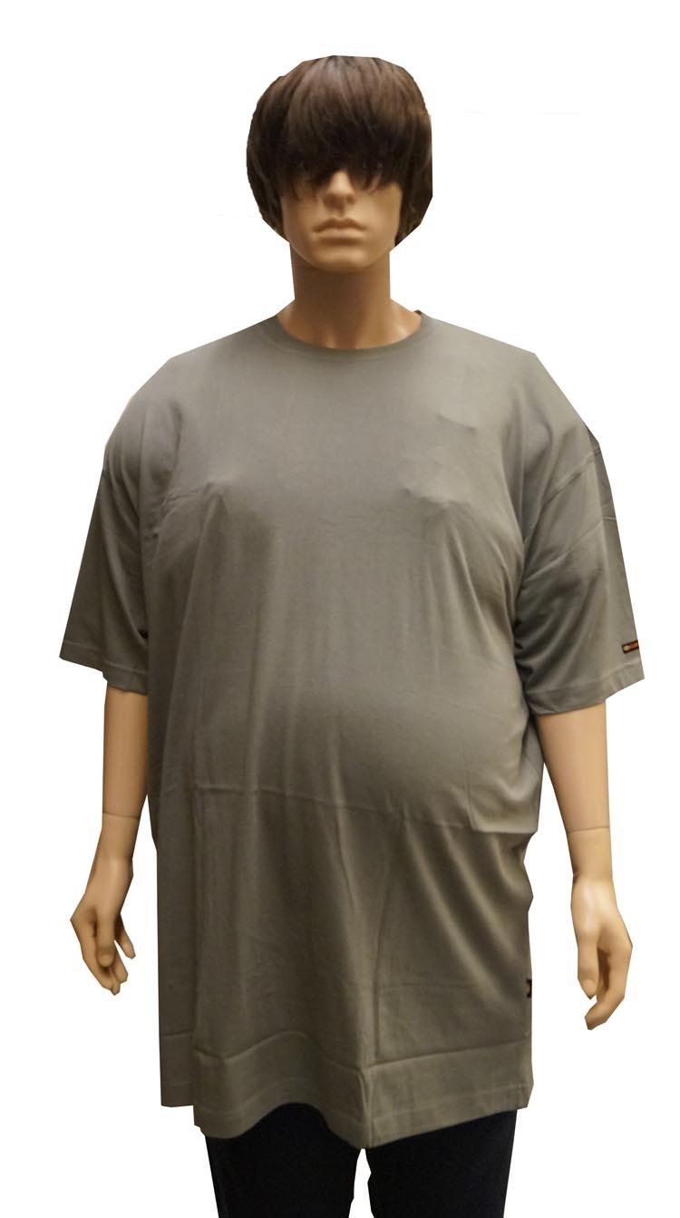 """Kamro T-shirt met korte mouwen  """" Extra lang """"  Olijf"""