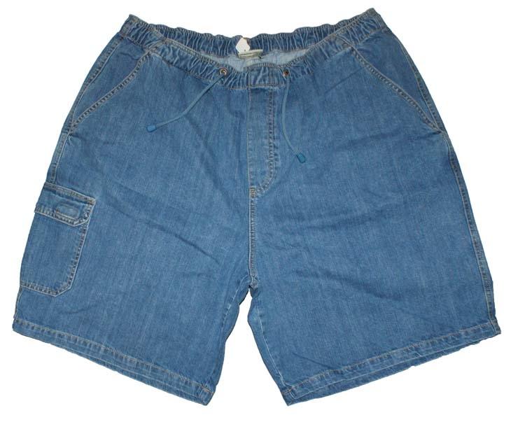 """Korte broek met elastieke band  """" Licht blauw """""""