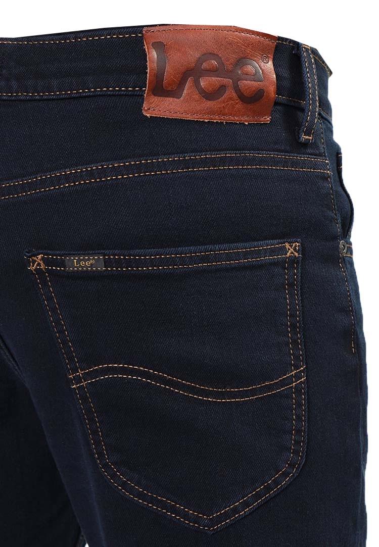 "Lee stretch jeans "" Brooklyn Straight ""  Black / blue"