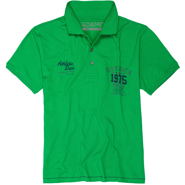 "Polo met korte mouwen  "" 1975 "" groen"