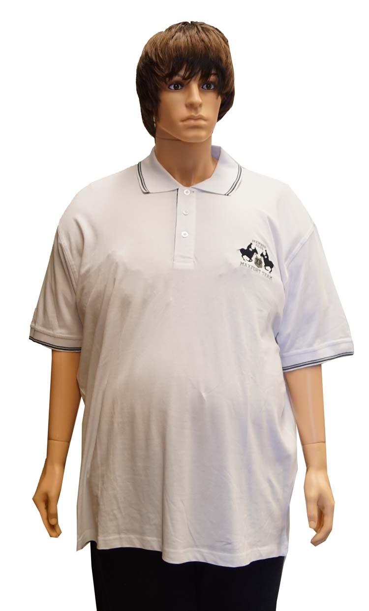 """Polo met korte mouwen  """" Maxfort """"  Team  Wit"""