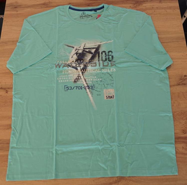 """T-shirt met korte mouwen """" Passage of min waterside """" Groen"""