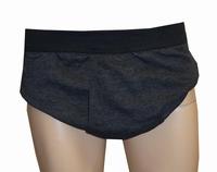 """Onderbroek """" Adamo """"  Zwart / grijs gestreept"""