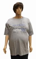 """T-shirt met korte mouwen  """" Nautical """"  Licht grijs"""