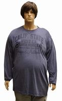"""Shirt met lange mouwen """" Calif. state """"  Blauw"""