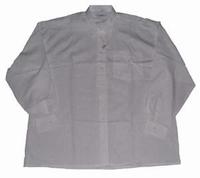 Grote maten heren blouse met lange mouwen