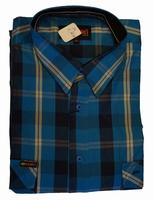 Grote maten blouse met lange mouwen