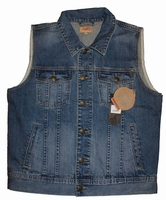 "Denim bodywarmer  "" Paddocks  ""  Dark stone used"