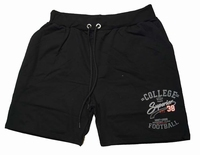 "Joggingbroek bermuda "" College superior 38  Football "" Zwart"