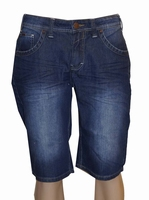 "Korte denim broek "" Brams Paris "" Dark used"