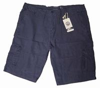 """Bermuda met zakken aan zijkant  """" Maxfort """"  Blauw"""