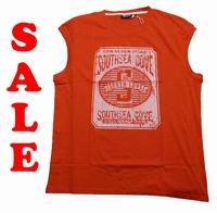 "Mouwloze T-shirt  "" GCM ""  South sea gove   Rood"