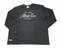 """Shirt met lange mouwen """" Athletic team """" Zwart"""