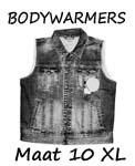 Bodywarmers maat 10XL