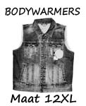 Bodywarmers maat 12XL