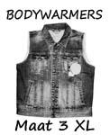Bodywarmers maat 3XL