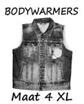 Bodywarmers maat 4XL