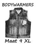 Bodywarmers maat 9XL