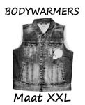 Bodywarmers maat XXL
