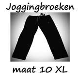 Joggingbroeken maat 10XL