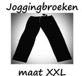 Joggingbroeken maat XXL