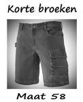 Korte broeken maat 58 / 7XL