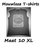 Mouwloze T-shirt maat 10XL