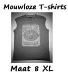 Mouwloze T-shirts maat 8XL