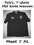 Polo's, T-shirts maat 7XL