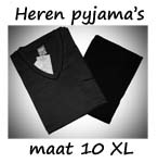 Pyjama's maat 10XL