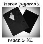 Pyjama's maat 5XL