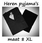 Pyjama's maat 8XL